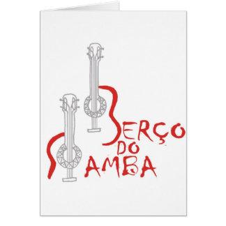 Produtos Berço hace la samba Felicitación
