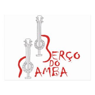 Produtos Berço hace la samba Postales