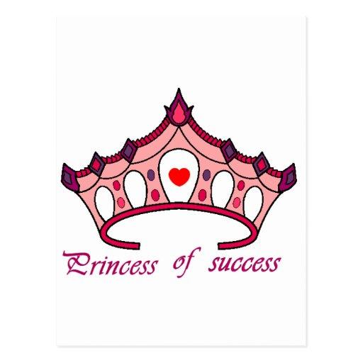 PRODUTOS PRINCESS OF SUCCESS CARTOES POSTAIS