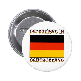 Produziert in Deutschland Pins