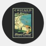 Proehl Chicago Round Stickers