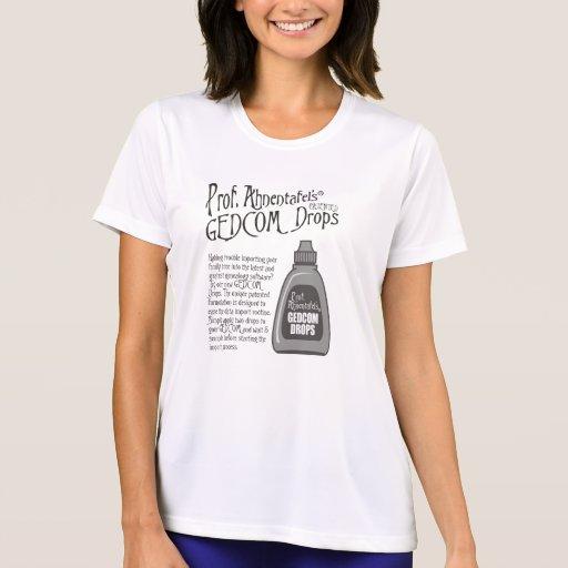 Prof. Ahnentafel's GEDCOM Drops Shirts
