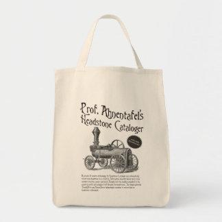 Prof. Ahnentafel's Headstone Cataloger Canvas Bags