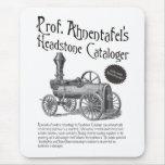 Prof. Ahnentafel's Headstone Cataloger Mouse Pad