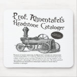 Prof. Ahnentafel's Headstone Cataloger Mouse Pads