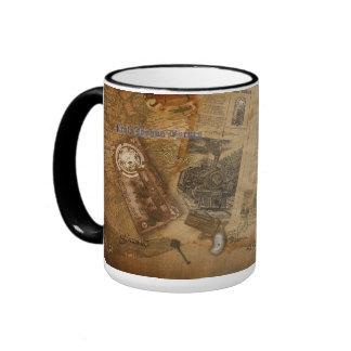 Prof. Byrnes' Steampunk World Ringer Mug