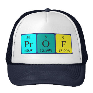 Prof periodic table name hat