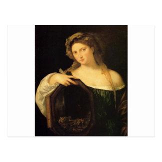 Profane Love by Titian Postcard