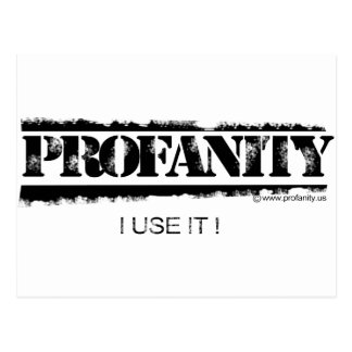 Profanity - Exercise Your Mouth Postcard