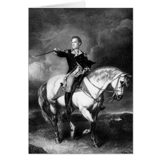 Profecía del caballo blanco tarjeta de felicitación