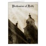 Profesión de la fe tarjeta