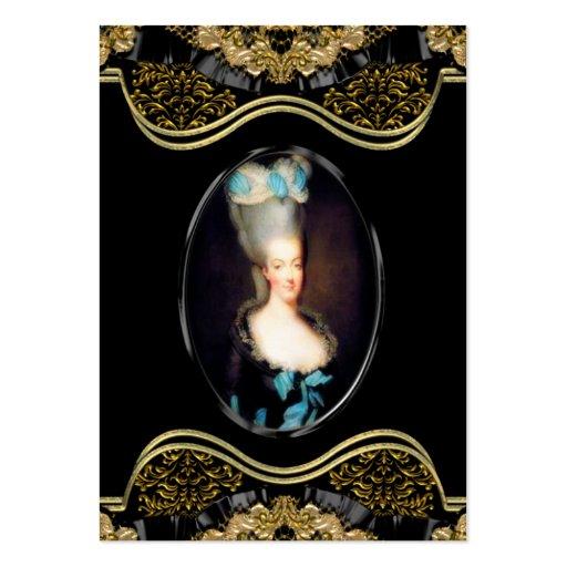 Profesional barroco de Marie Fairdaye Tarjetas De Visita Grandes