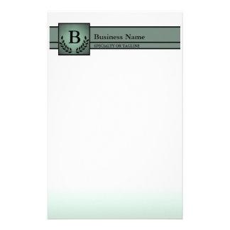 profesional con monograma papeleria personalizada