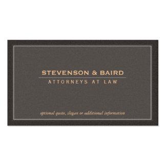 Profesional corporativo elegante y clásico plantilla de tarjeta de visita