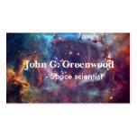 Profesional de la astronomía y de la ciencia tarjetas de visita