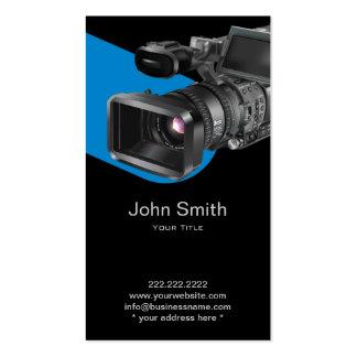 Profesional de la fotografía de la grabación de tarjetas de visita