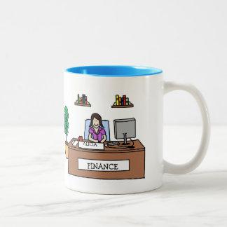Profesional de las finanzas - personalizable tazas de café