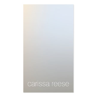 Profesional de plata luminoso moderno de tarjetas de visita