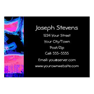 Profesional del ~ de la pintada tarjetas de visita grandes