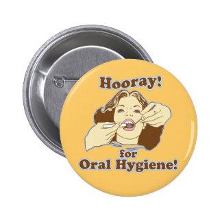 Profesional dental divertido pins