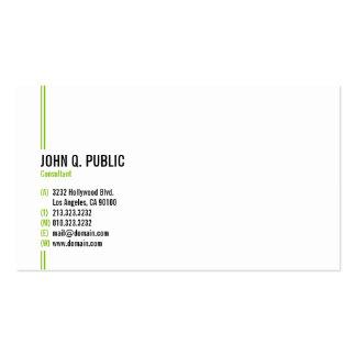 Profesional elegante moderno minimalista tarjetas de visita
