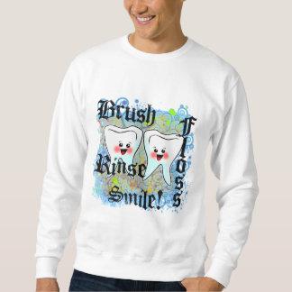 Profesionales dentales de los dentistas sudadera