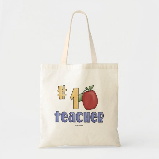 Profesor #1 bolsa tela barata