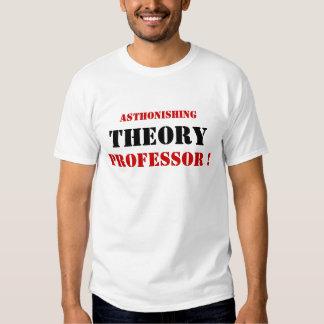 ¡Profesor asombroso de la teoría! Camisas