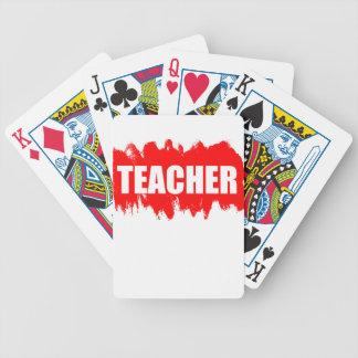Profesor Baraja Cartas De Poker