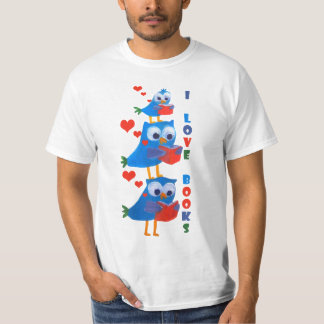 profesor, bibliotecario, camiseta del vendedor de camisas