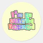 Profesor brillante de la álgebra de los colores etiquetas