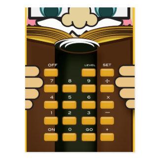 Profesor Calculator Tarjeta Postal