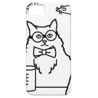Profesor Cat Funda Para iPhone 5 Barely There