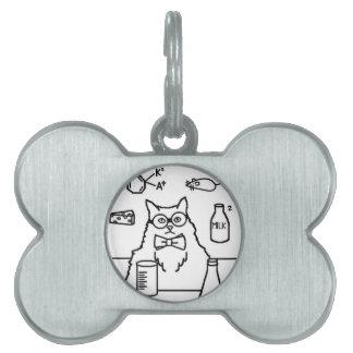 Profesor Cat Placa De Mascota