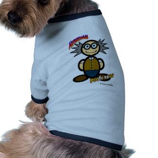 Profesor (con los logotipos) ropa perro