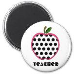 Profesor de Apple del lunar Imán Para Frigorifico