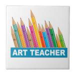 Profesor de arte azulejos