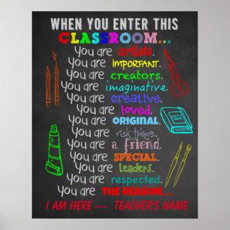Profesor de arte - cuando usted incorpora reglas