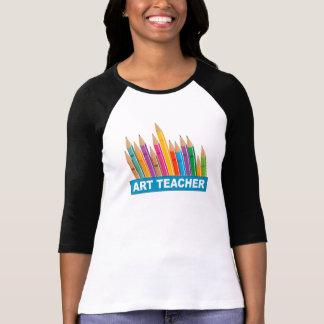 Profesor de arte camisetas