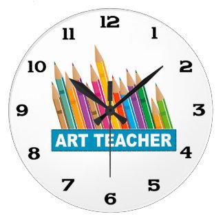 Profesor de arte reloj