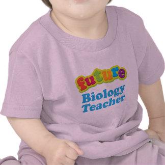 Profesor de biología (futuro) para el niño camiseta