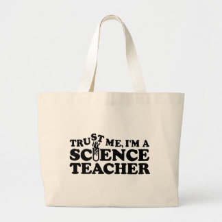 Profesor de ciencias bolsa tela grande