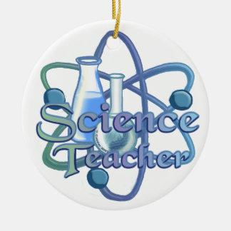 Profesor de ciencias ornamento para arbol de navidad