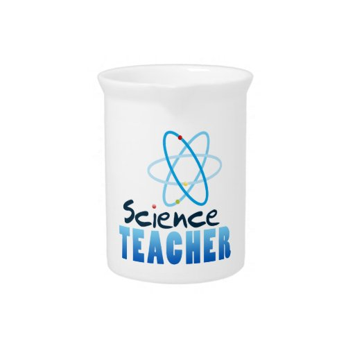 Profesor de ciencias jarrón