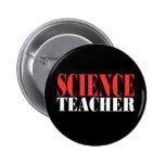 Profesor de ciencias, nuevo camisetas negro pin