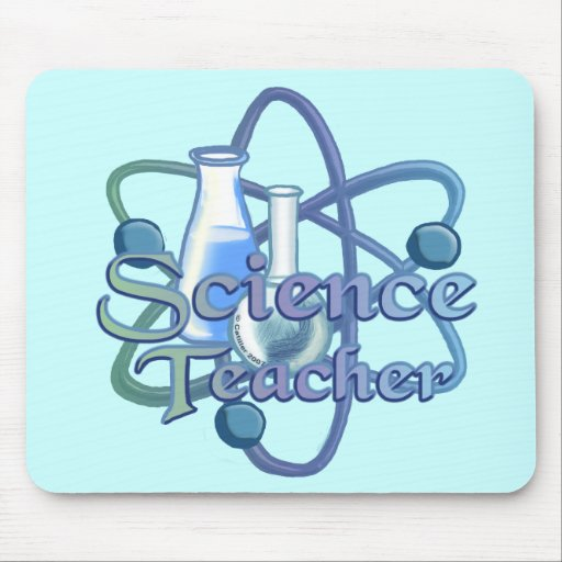 Profesor de ciencias tapetes de raton