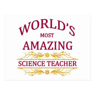 Profesor de ciencias postal