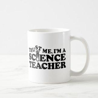 Profesor de ciencias taza