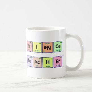 Profesor de ciencias taza de café