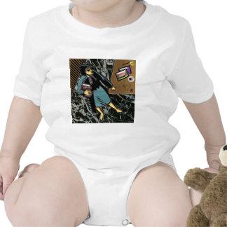 Profesor de cursos múltiples trajes de bebé